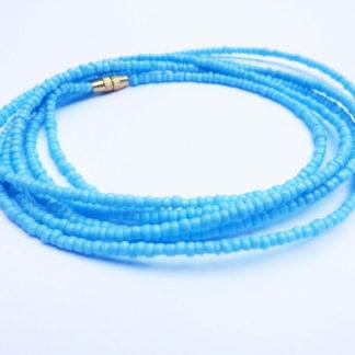 Baby Blue Waist Beads