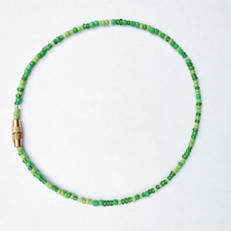 fertility beaded anklet