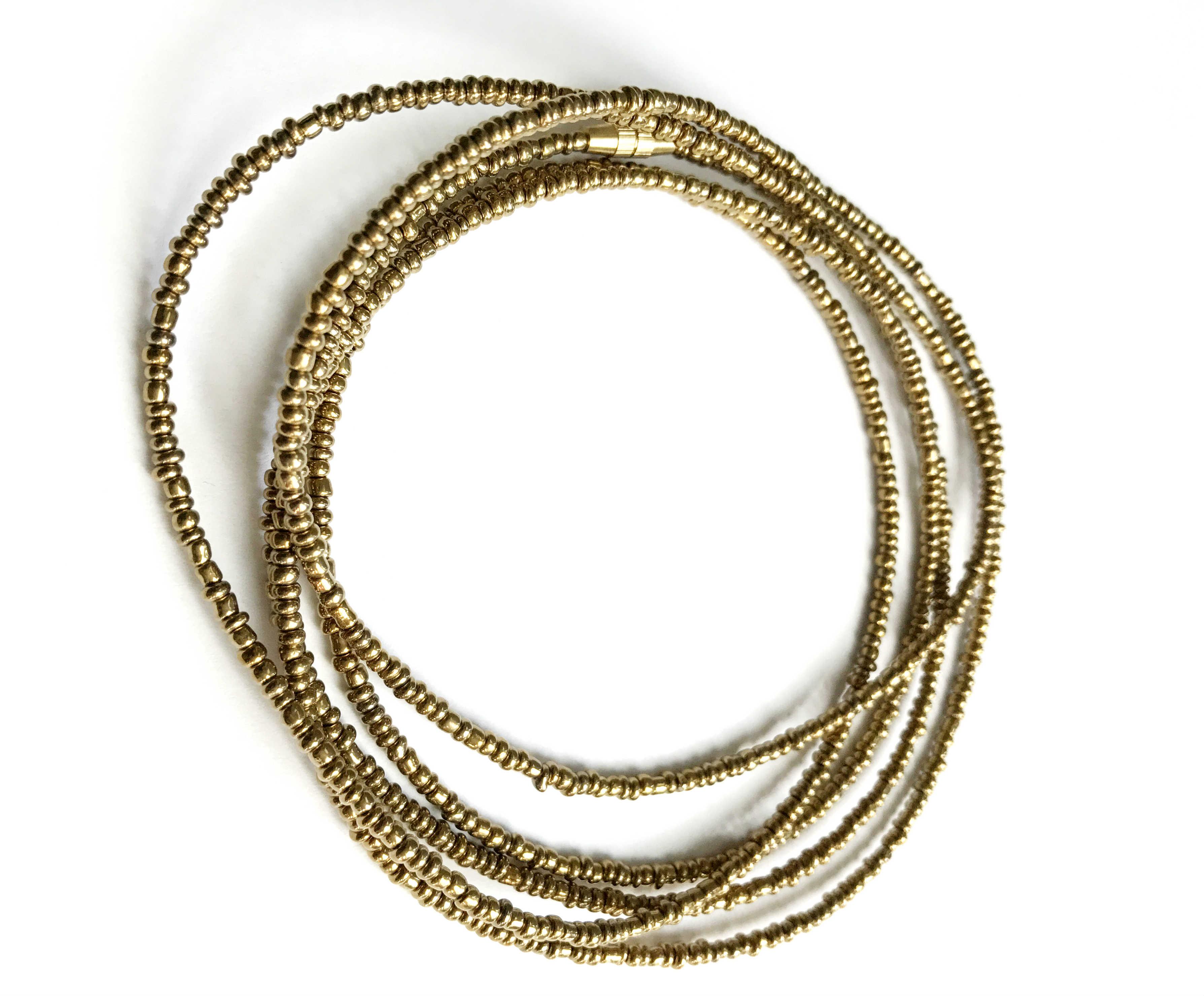 gold waist beads