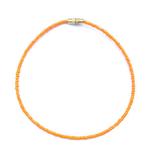 orange anklet