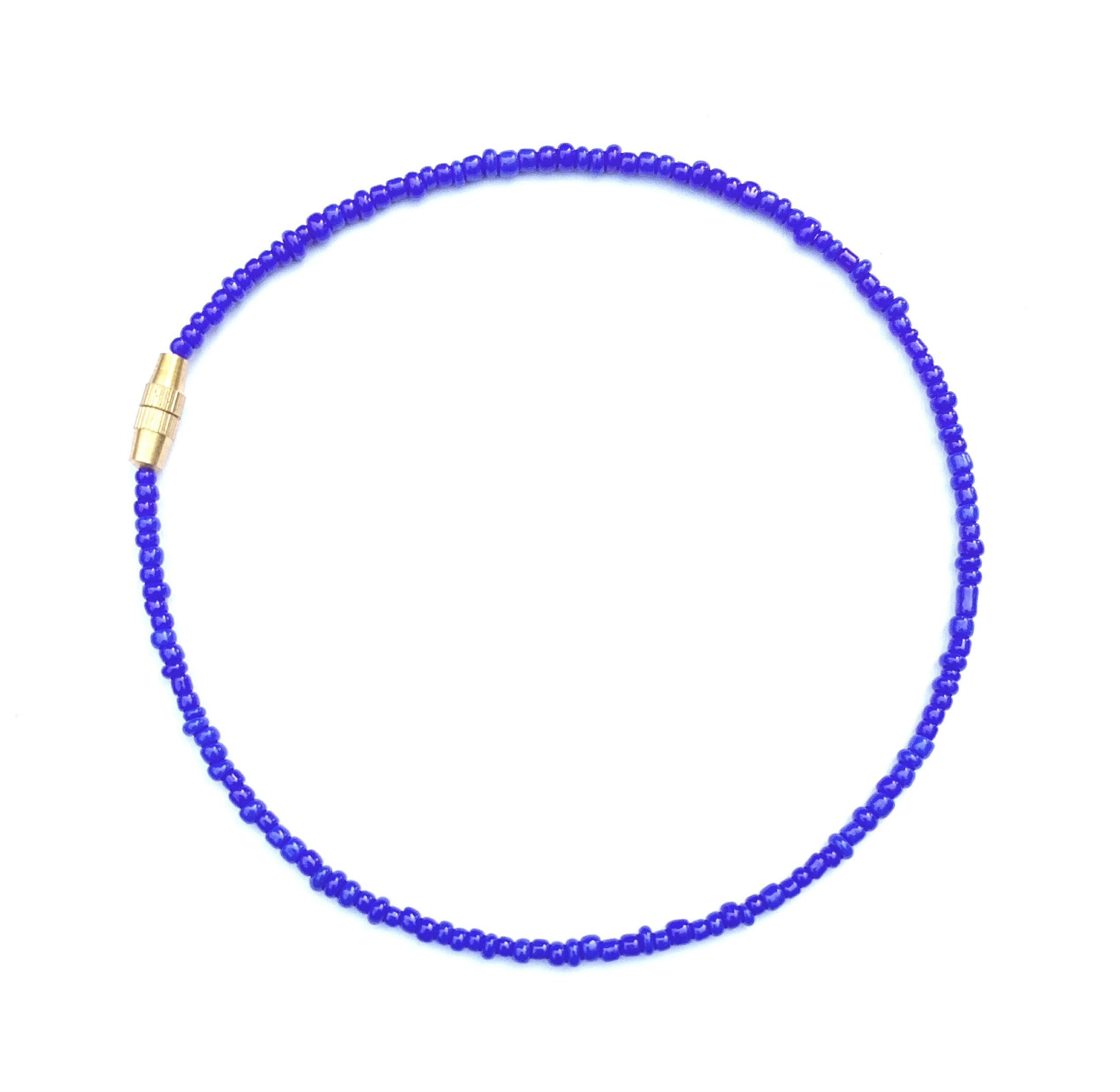 royal blue anklet