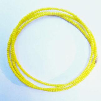 Yellow Waist Beads