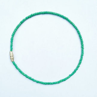 green anklet