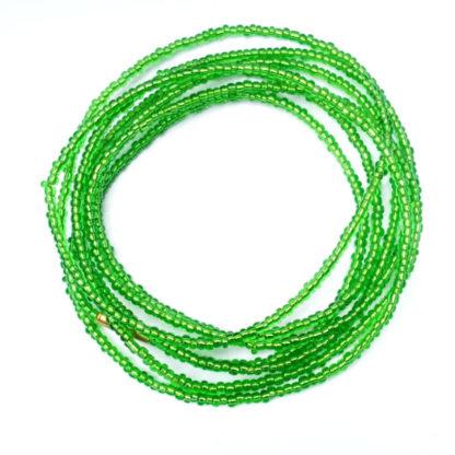 Green African Waist Beads