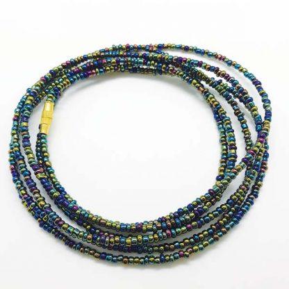 African Iridescent Waist Beads